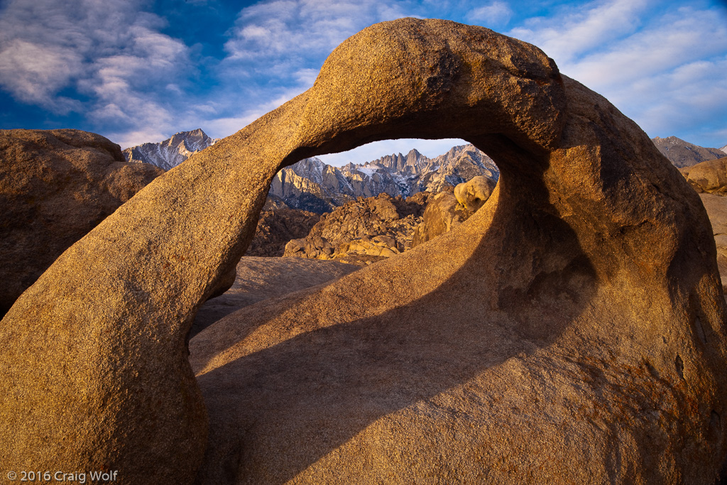 Mobius Arch with Clouds