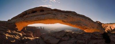 Mesa Arch Panorama - Craig Wolf