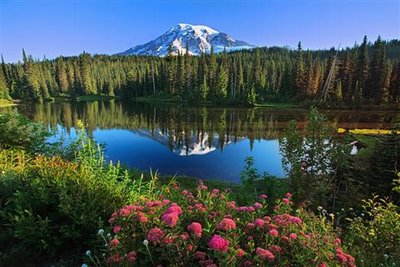 Reflection Lakes, Mt. Rainier, WA